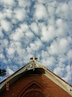 Beautiful Sky above our Church, November 29, 2009