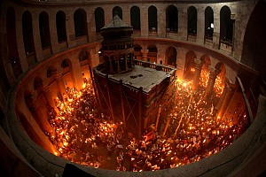 The Holy Fire has descended in Jerusalem http://www.pravoslavie.ru/english/93008.htm