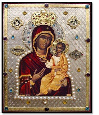 Hawaiian Iveron Icon of the Theotokos